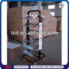 TSD-M764 factory Custom free standing retail store furniture/shop fitting and displays/metal pop display stand