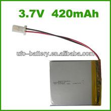 3.7v 420mAh lithium ion car batteries sale,lithium iron phosphate battery,lithium metal