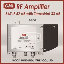 4133 SAT IF 42 dB with Terrestrial 33 dB Amplifier