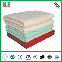 portable polyest single control electric heated blanket