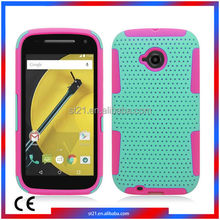 High Quality Top Selling Smartphone Mobile Phone Cover TPU PC Protector Case Mobile Phone Case For Motorola Moto E2 LTE XT1527