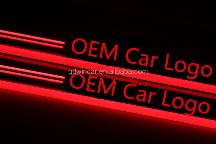 2015 Ignition Led Door Sill Scuff Plate For Benz Glk Class