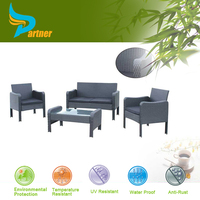 Jordans Waterproof Cane Rattan Leisure Dining Set Table and Chairs Reclaimed Teak Plastic Oversized Costco Outdoor Furniture
