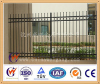 Rails for sliding gate curtain and trailer
