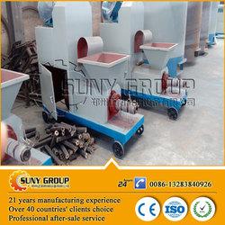 Hot sale roller ball briquette press machine made in china