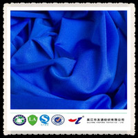 functional white polyester cotton blend fabric