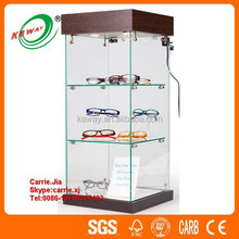 2015 new wholesale glass display case