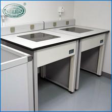 Alumimun wood side table /lab furniture /lab equipment