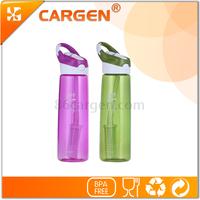 2015 innovative item easy carrying hiking sport alkaline water bottle