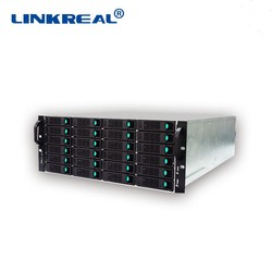 Linkreal LR - BN2424 provides users with mass data storage of 24 slots nas storage server