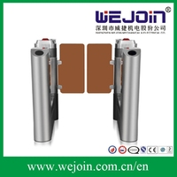 Swing Barrier With High Glass Flap and Fashionable Housing Design