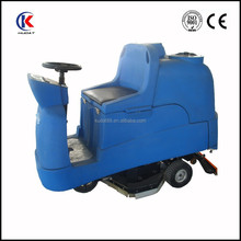 Ride on floor scrubber, electric ground washing machine/electric carpet scrubber