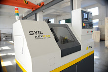Offering cnc lathe teaching service, famous cnc lathe machine brand in China, SYIL Co.,