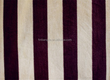 Hot-Selling Stripe Polyester Sofa Fabric