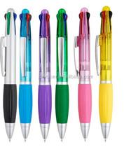 soft grip multicolor promotional student pen