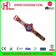 Hot fashion silicone kids slap wrist watch/Custom promotional silicone kid watch
