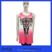 Animal Print Garments Sexy Long Hot Top Women Long Loose Shirts