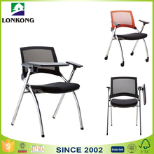 Cheap Price Stackable Conference Chair,Conference Room Chairs with Writing Pad