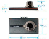 3.0 Inch V80 Unique HD 1080P Parking Surveillance+Lane Departure Warning Car DVR Dashcam of 120 Degree+G-Sensor+Night Vision