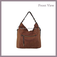 Nubuck PU Leather Shoulder Bag for Women