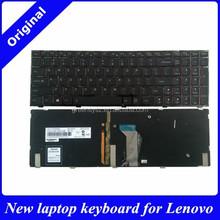 New for Lenovo Y500 Y500N Y510P wholesale laptop keyboard internal us layout backlight