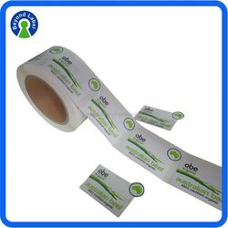 Custom Printed Waterproof Packaging Food Label,Roll Self Adhesive Frozen Canned Food Label