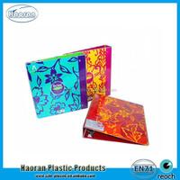 Colorful Flower Design Plastic File Folder China Supplier
