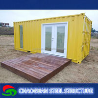 China high quality prefabricated prefab light steel container house with complete accessory