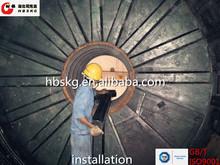 wear resistance rubber liner for mill machine cylinder liner