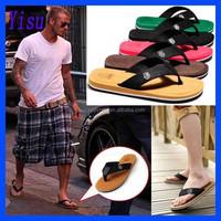 Wholesale 100% Brand New Summer Men's Flip Flops Beach Slippers