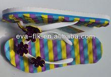 Hor selling fashional beach wedding flip flops