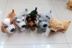18*20cm mixed styles plush dog toy