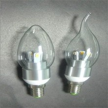 Led bulbs lighting50pcs/lot 3W LED Candle Light 5730 SMD E14 Warm White/Cold Whit