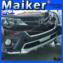 off road 4x4 Bumper plate Car Bumper For Toyota RAV4 XK auto tuning accessories from maiker