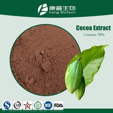 China supplier cocoa extract powder 10%, 20% Theobromine powder natural cocoa powder
