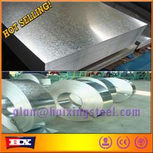 ISO9001 standard galvanized steel bolts/gi