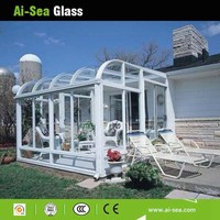 Comfortable And Enjoyable Suntans 8MM Toughened Hollow Glass