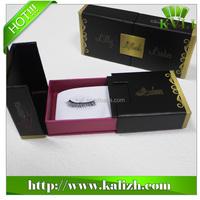 Fashion rigid paper false eyelash box packaging made in China
