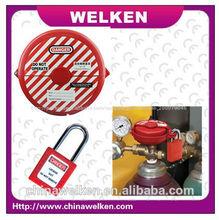 ce aprovado fábrica com alta qualidade 2014 novo bd-8235 segurança red gate válvula de bloqueio de etiquetagem