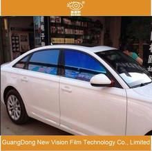 Solar control anti-glare 2mil explosion-proof VLT80%car window decoration chameleon tint film for automobile
