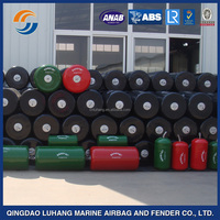 high energy absorption low reaction foam filled solid fender