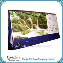 High Quality 2014 English Arabic Calendar Printing