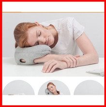 2015 new High-end gifts portable Health neck guard travel neck pillow Take a nap air ostrich pillow
