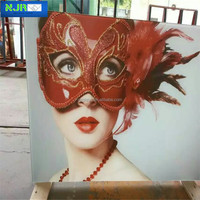 decorative painted glass, shopping mall glass