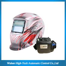 CE auto-darkening welding helmet with respirator