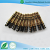 3.5mm 4 Pole Plug Gold Plated Connector 3.5mm stereo headphone plug plastic gold plated