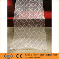 2015 new European style fancy curtains with embroidery