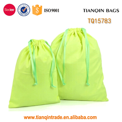 best sales cotton drawstring bag with high quality