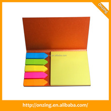 Onzing new fashion sticky note and memo pad