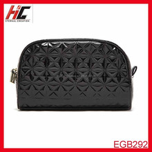 2015 New Arrival korean black leather women bag Ladies Purses